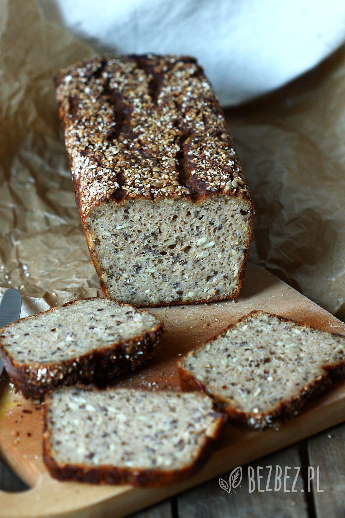 Chleb bezglutenowy z amarantusem, na zakwasie