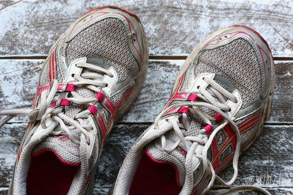 SStare buty do biegania od taty