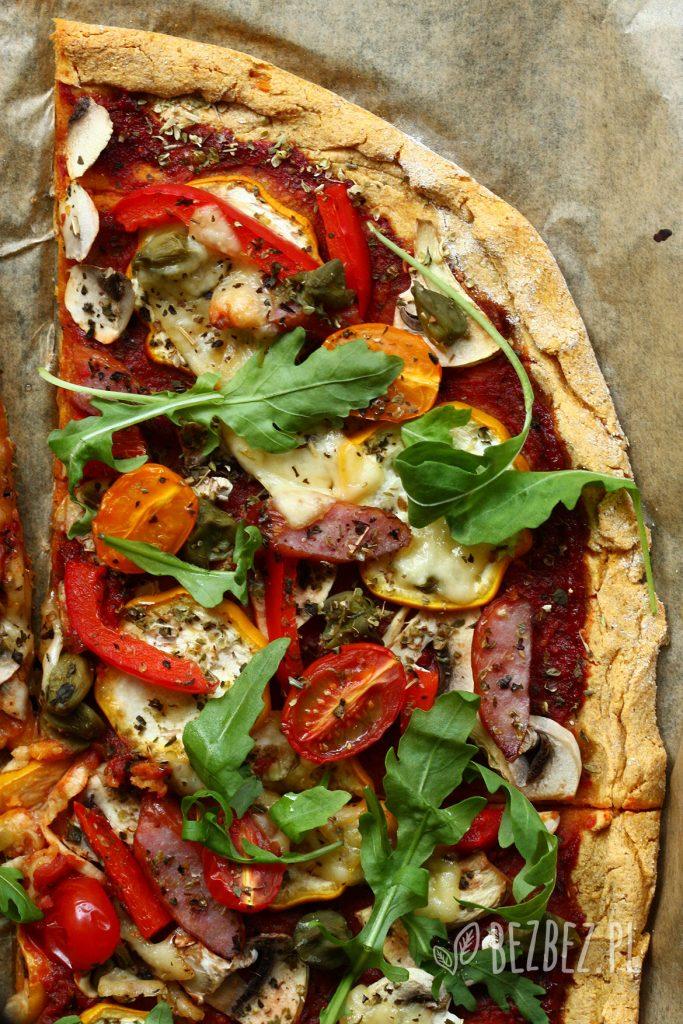 Pizza z batata z warzywami