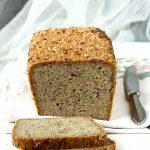 Bezglutenowy chleb pełnoziarnisty