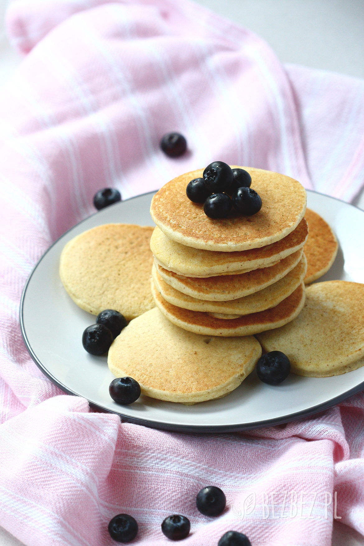 Placki jaglane jak pancakes