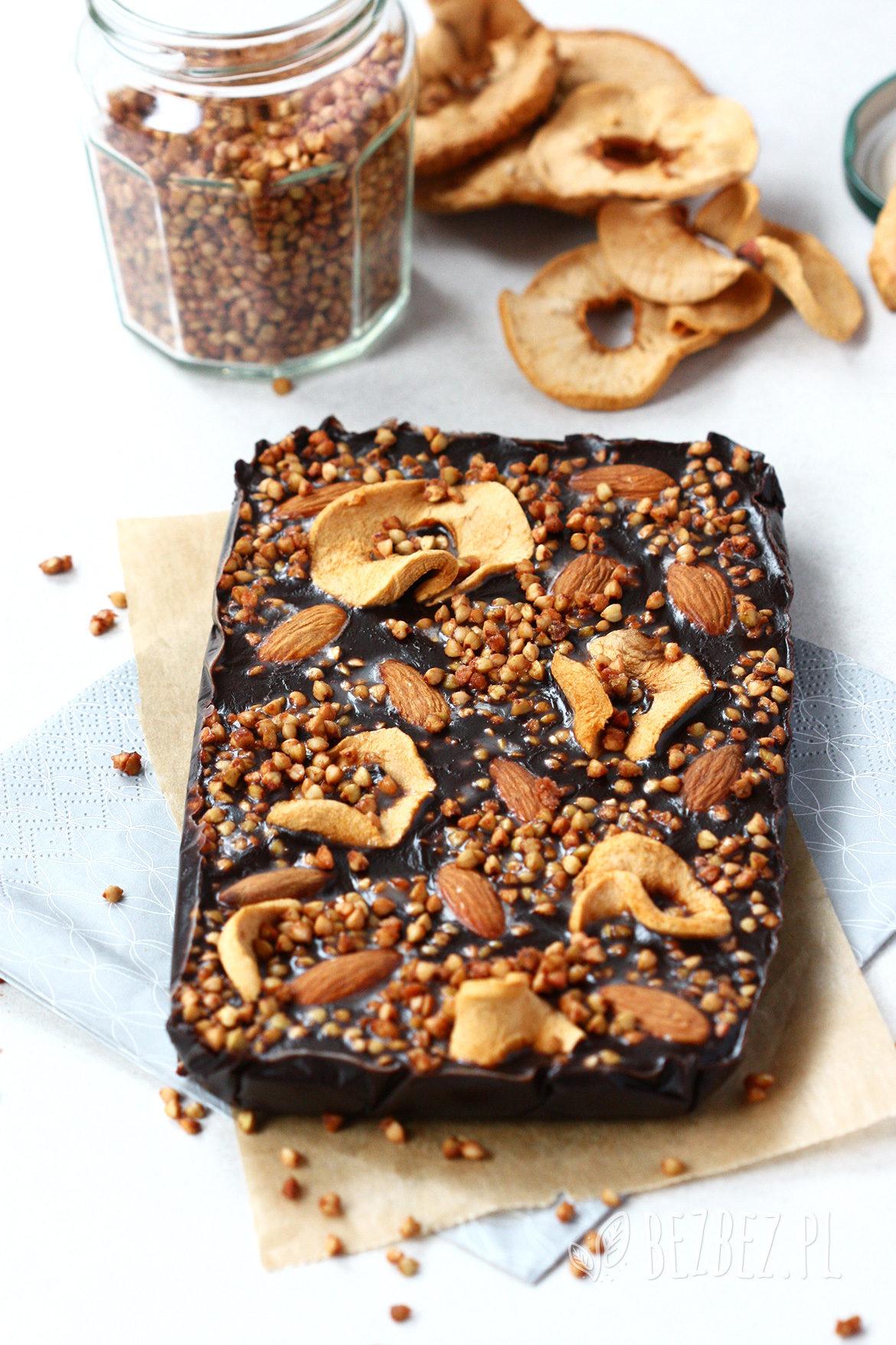 Domowa czekolada bez glutenu, wegańska