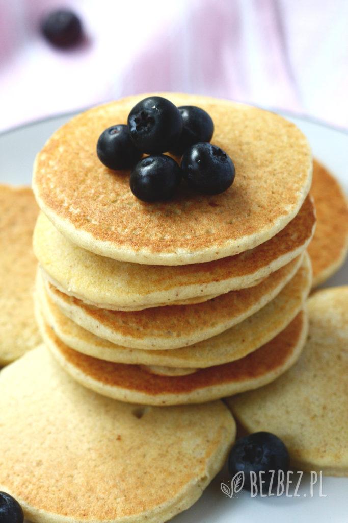 Puszyste placki jaglane jak amerykańskie pancakes