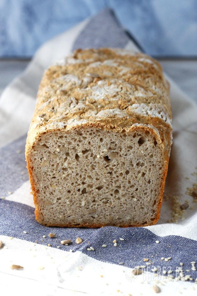 Chleb gryczano-ryżowy bez glutenu