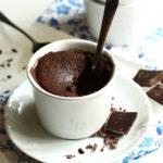 Czekoladowy mug cake czyli mini brownie bezglutenowe w 3 minuty