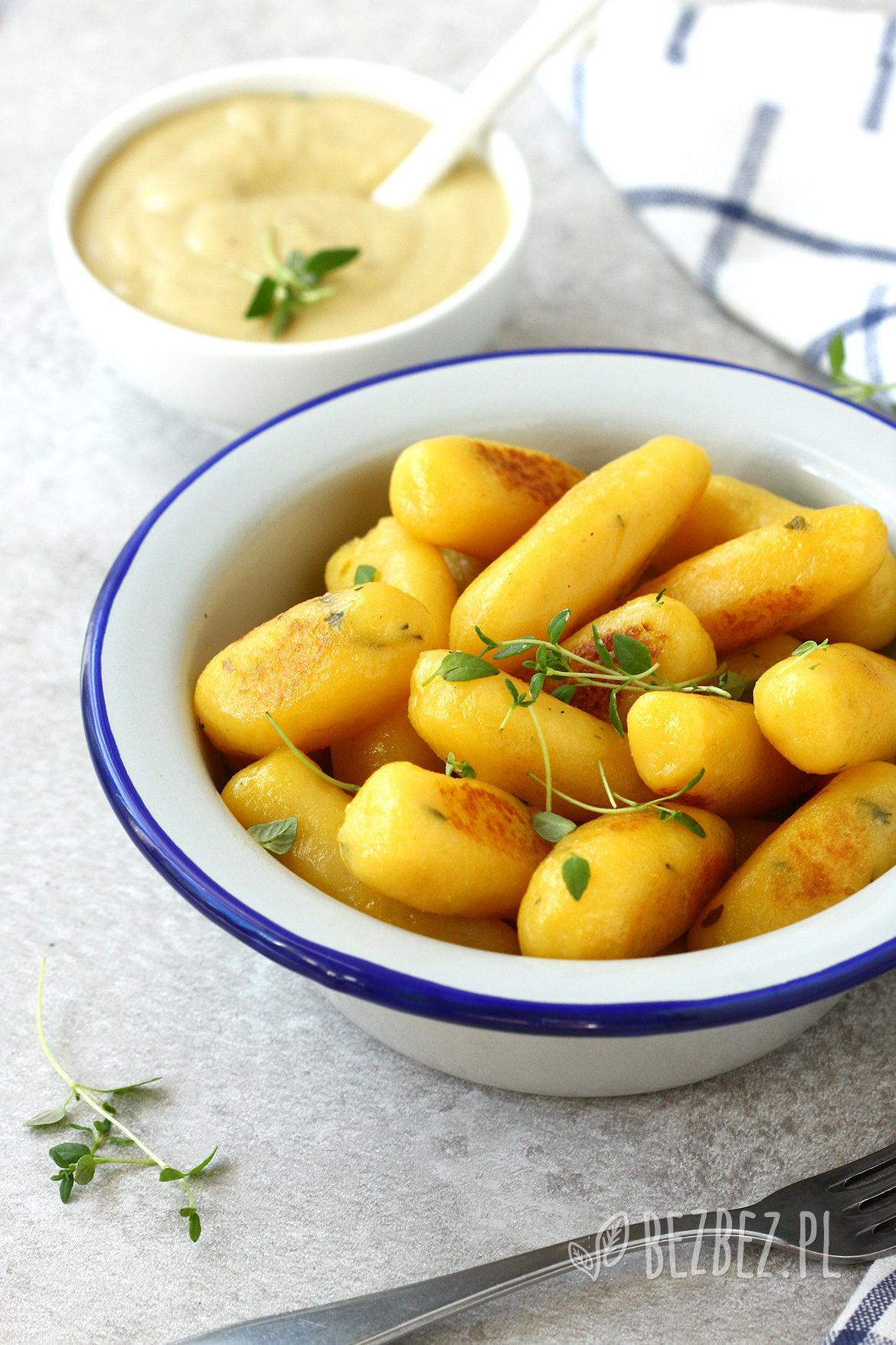 Bezglutenowe kluski dyniowo-ziemniaczane bez jajek