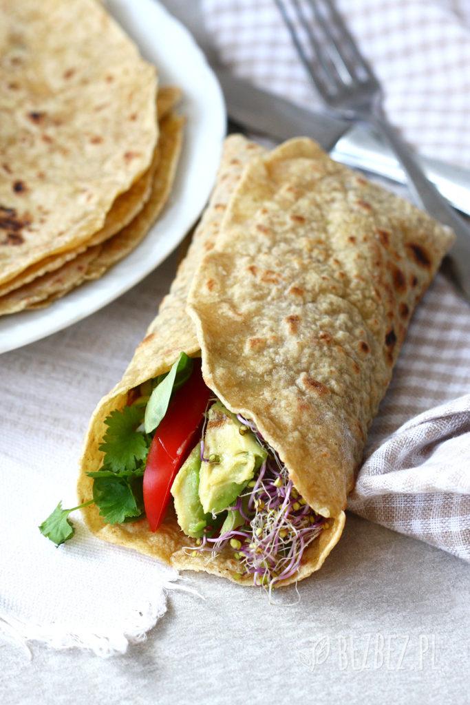 Proste tortille bezglutenowe i wegańskie