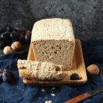 Bezglutenowy chleb ryżowo-owsiany na zakwasie bez drożdży