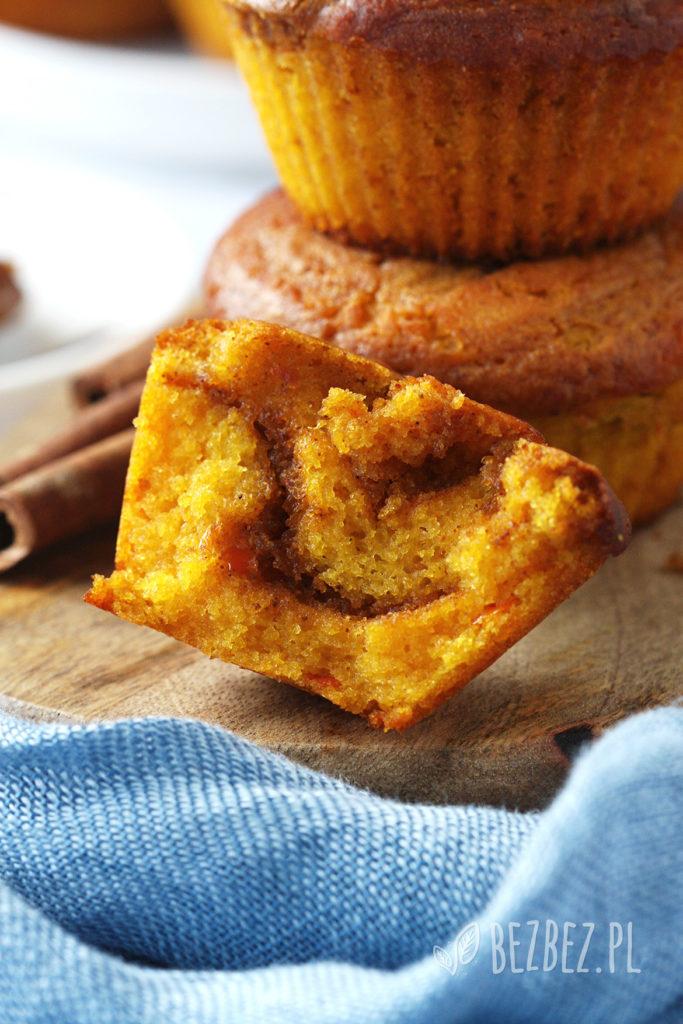 Bezglutenowe muffinki dyniowe z cynamonem