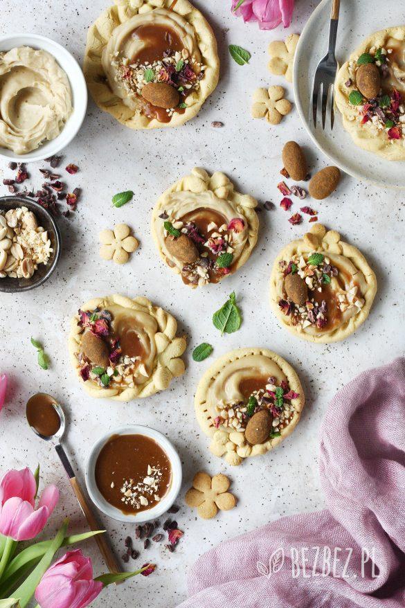 Mini mazurki kajmakowe bez glutenu i nabiału
